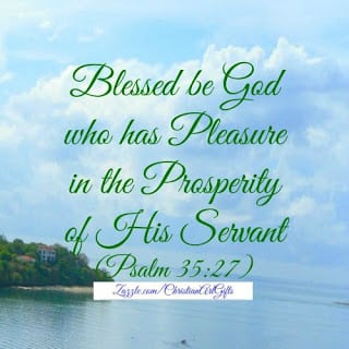 God's blessing will bring you into prosperity and not